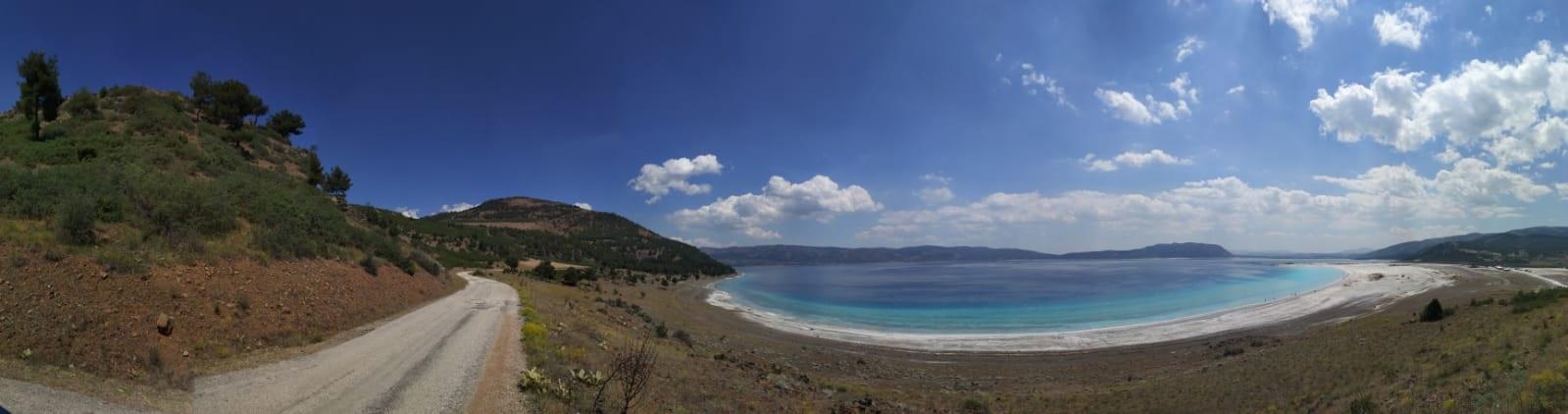 Salda Plajı Genel Görünüm